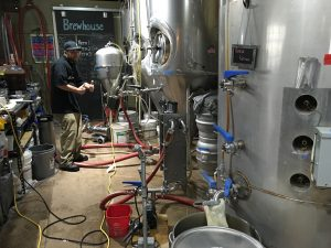 Brewhouse Pump Setup