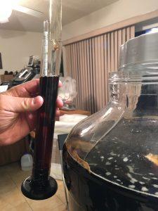 Brewing Jargon   Hydrometer Reading prior to Bottling